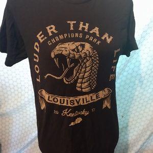 louder than life tour shirt